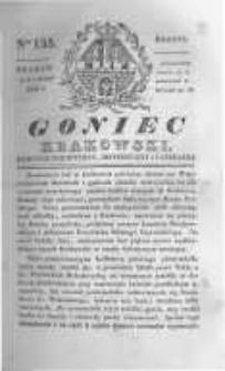 Goniec Krakowski: dziennik polityczny, historyczny i literacki. 1830.10.09 nr135