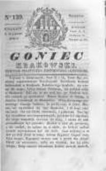 Goniec Krakowski: dziennik polityczny, historyczny i literacki. 1830.10.16 nr139