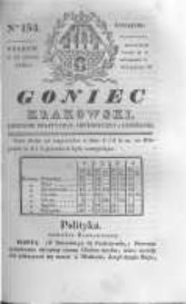 Goniec Krakowski: dziennik polityczny, historyczny i literacki. 1830.11.11 nr154