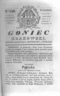 Goniec Krakowski: dziennik polityczny, historyczny i literacki. 1830.11.15 nr156