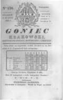 Goniec Krakowski: dziennik polityczny, historyczny i literacki. 1830.11.18 nr158