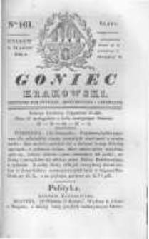Goniec Krakowski: dziennik polityczny, historyczny i literacki. 1830.11.24 nr161