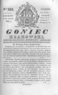 Goniec Krakowski: dziennik polityczny, historyczny i literacki. 1830.11.25 nr162