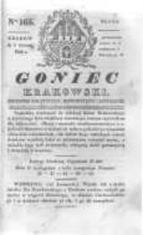 Goniec Krakowski: dziennik polityczny, historyczny i literacki. 1830.12.01 nr165