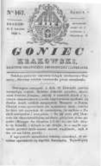 Goniec Krakowski: dziennik polityczny, historyczny i literacki. 1830.12.04 nr167