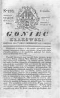 Goniec Krakowski: dziennik polityczny, historyczny i literacki. 1830.12.09 nr170