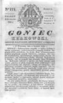 Goniec Krakowski: dziennik polityczny, historyczny i literacki. 1830.12.11 nr171