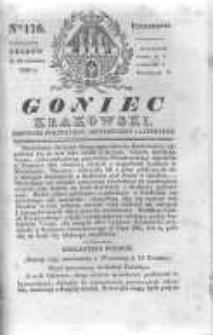 Goniec Krakowski: dziennik polityczny, historyczny i literacki. 1830.12.20 nr176