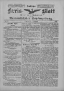Amtliches Kreis-Blatt für den Kreis Neutomischel: zugleich Neutomischeler Hopfenzeitung 1900.09.11 Nr71