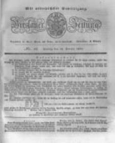 Breslauer Zeitung. 1831.01.14 Nr12