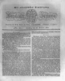 Breslauer Zeitung. 1831.01.25 Nr21