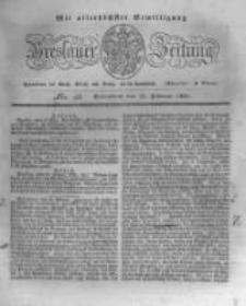 Breslauer Zeitung. 1831.02.19 Nr43