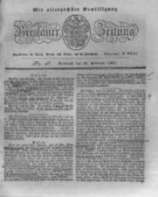 Breslauer Zeitung. 1831.02.23 Nr46