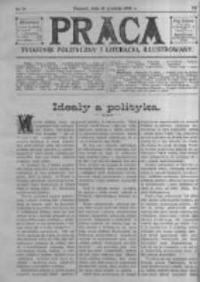 Praca: tygodnik polityczny i literacki, illustrowany. 1909.12.12 R.13 nr50