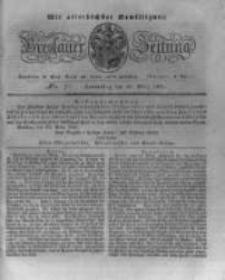 Breslauer Zeitung. 1831.03.24 Nr71