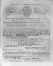 Breslauer Zeitung. 1831.03.31 Nr77
