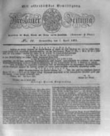 Breslauer Zeitung. 1831.04.07 Nr81