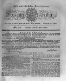 Breslauer Zeitung. 1831.04.12 Nr85