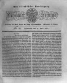 Breslauer Zeitung. 1831.04.14 Nr87