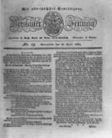 Breslauer Zeitung. 1831.04.16 Nr89