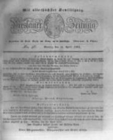 Breslauer Zeitung. 1831.04.25 Nr96