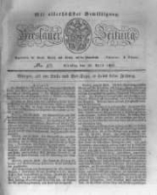 Breslauer Zeitung. 1831.04.26 Nr97