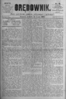 Orędownik: pismo poświęcone sprawom politycznym i spółecznym. 1880.07.31 R.10 nr91