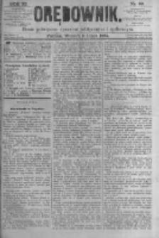 Orędownik: pismo poświęcone sprawom politycznym i spółecznym. 1881.07.05 R.11 nr80