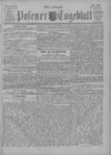 Posener Tageblatt 1901.04.11 Jg.40 Nr168