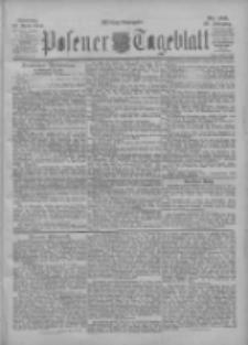 Posener Tageblatt 1901.04.22 Jg.40 Nr186
