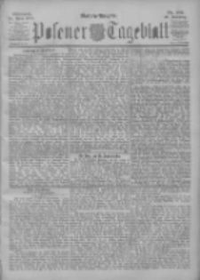 Posener Tageblatt 1901.04.24 Jg.40 Nr189