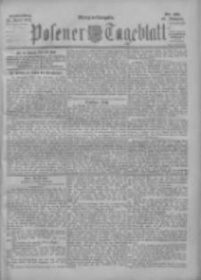Posener Tageblatt 1901.04.25 Jg.40 Nr191