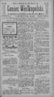 Goniec Wielkopolski: najtańsze pismo codzienne dla wszystkich stanów 1884.09.18 R.8 Nr215