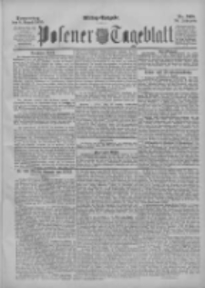 Posener Tageblatt 1895.08.08 Jg.34 Nr368