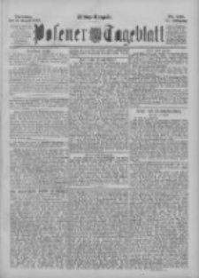 Posener Tageblatt 1895.08.13 Jg.34 Nr376