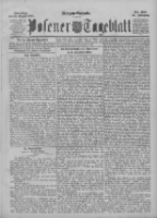 Posener Tageblatt 1895.08.20 Jg.34 Nr387
