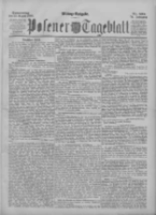 Posener Tageblatt 1895.08.22 Jg.34 Nr392