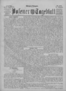 Posener Tageblatt 1895.08.25 Jg.34 Nr397