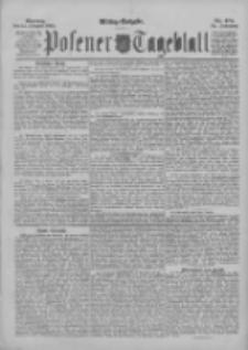 Posener Tageblatt 1895.10.14 Jg.34 Nr481