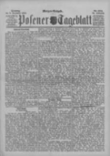 Posener Tageblatt 1895.12.08 Jg.34 Nr574