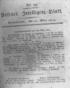 Posener Intelligenz Blatt. 1819.03.20 Nr23
