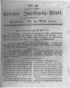 Posener Intelligenz Blatt. 1819.04.14 Nr30