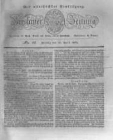Breslauer Zeitung. 1831.04.15 Nr88
