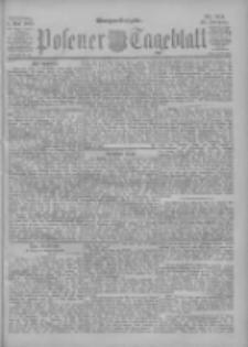 Posener Tageblatt 1901.05.01 Jg.40 Nr201