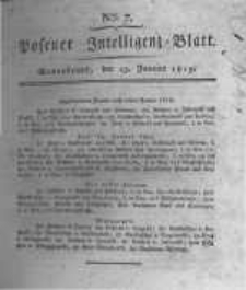 Posener Intelligenz Blatt. 1819.01.23 Nr7