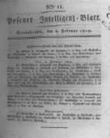 Posener Intelligenz Blatt. 1819.02.06 Nr11