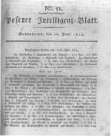 Posener Intelligenz Blatt. 1819.06.26 Nr51
