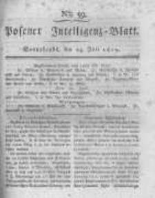 Posener Intelligenz Blatt. 1819.07.24 Nr59