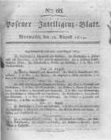 Posener Intelligenz Blatt. 1819.08.18 Nr66
