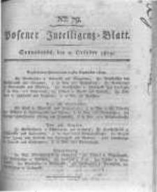 Posener Intelligenz Blatt. 1819.10.02 Nr79